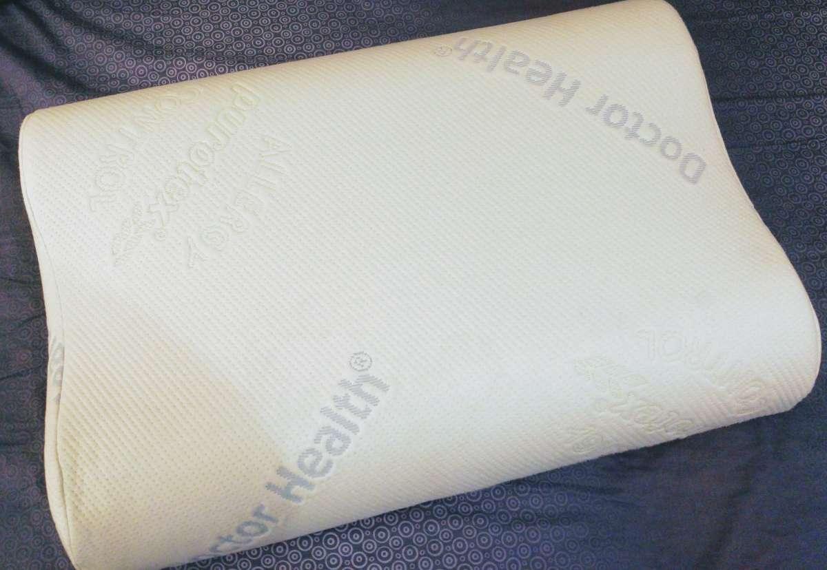 Новая ортопедическая подушка Doctor Health Memo Ortho с Мемо-пеной