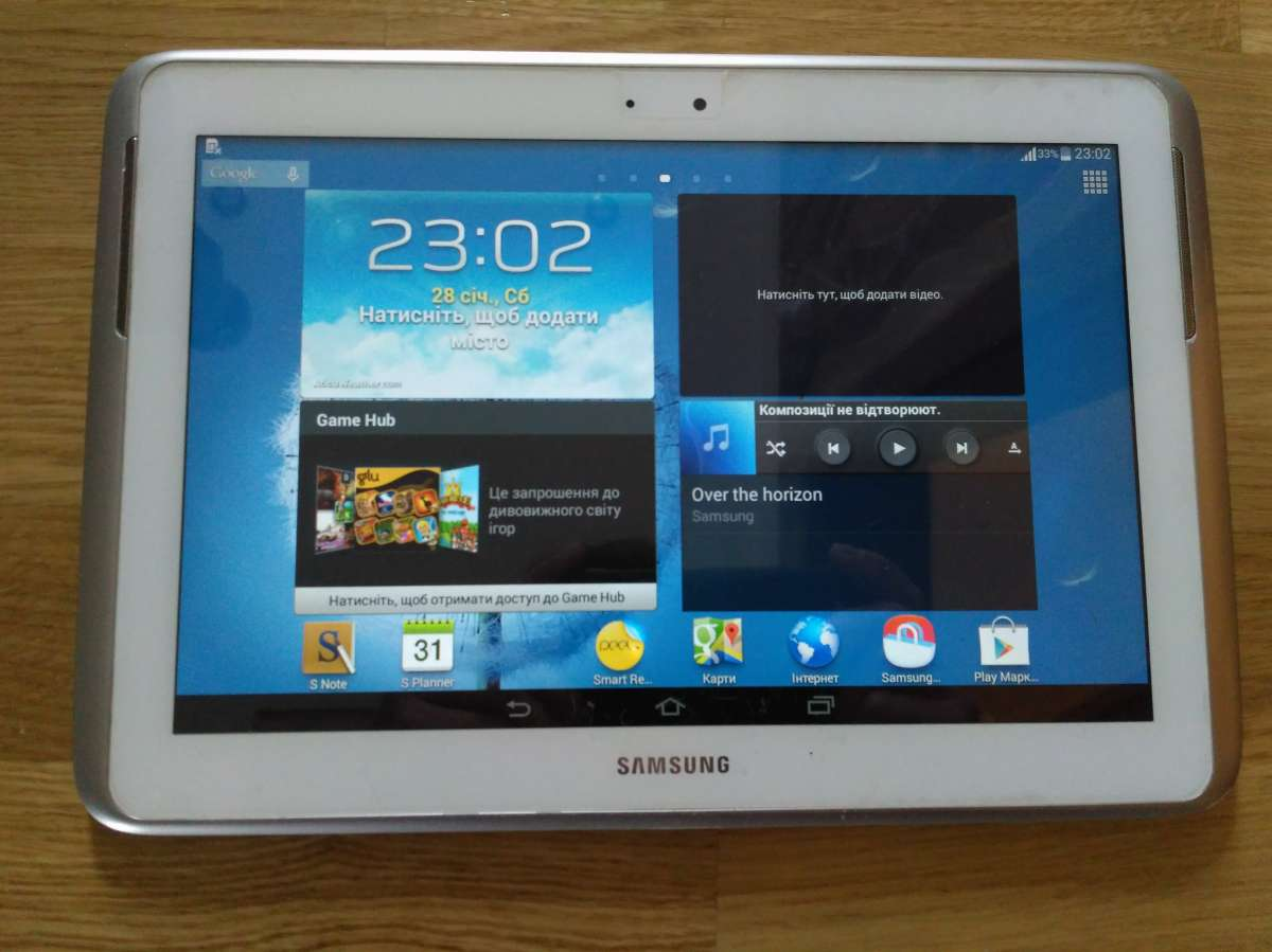 Samsung Galaxy Note 10.1 GT-N8000, 3G