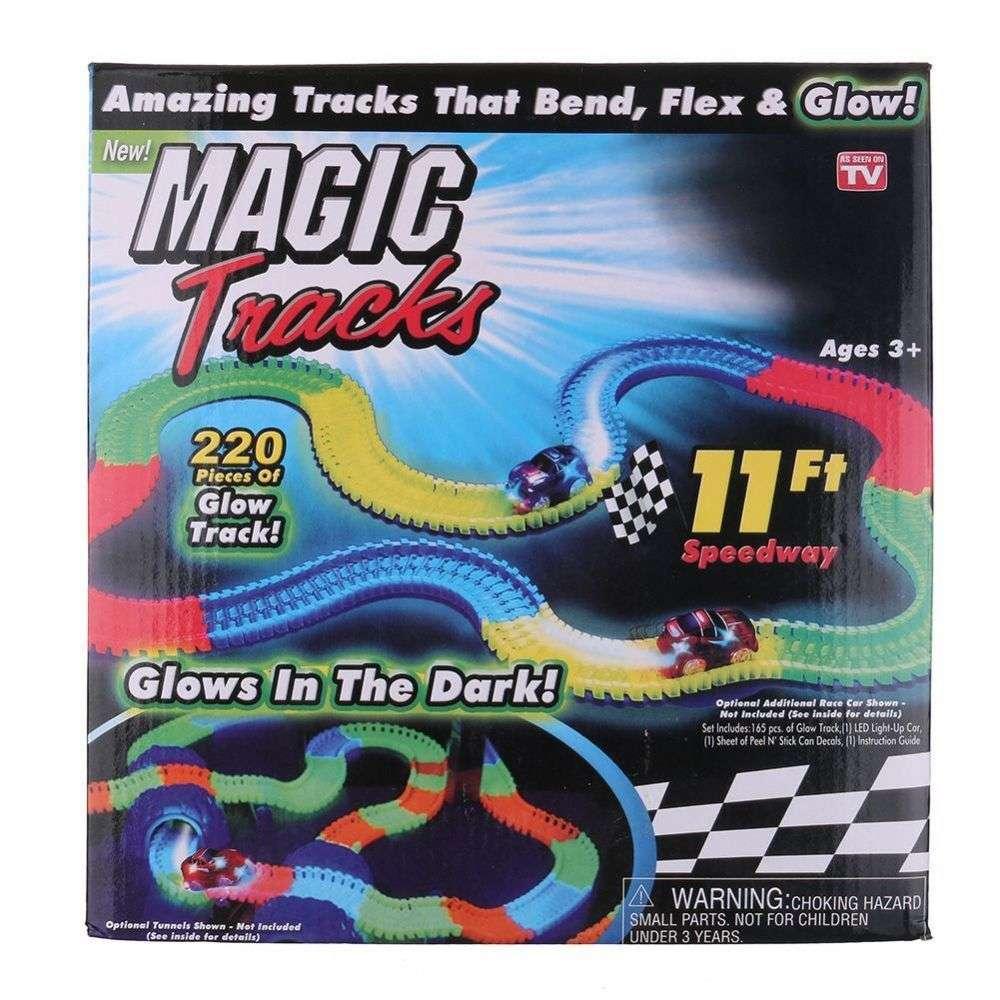 Magic Tracks на 220 деталей+ подарок