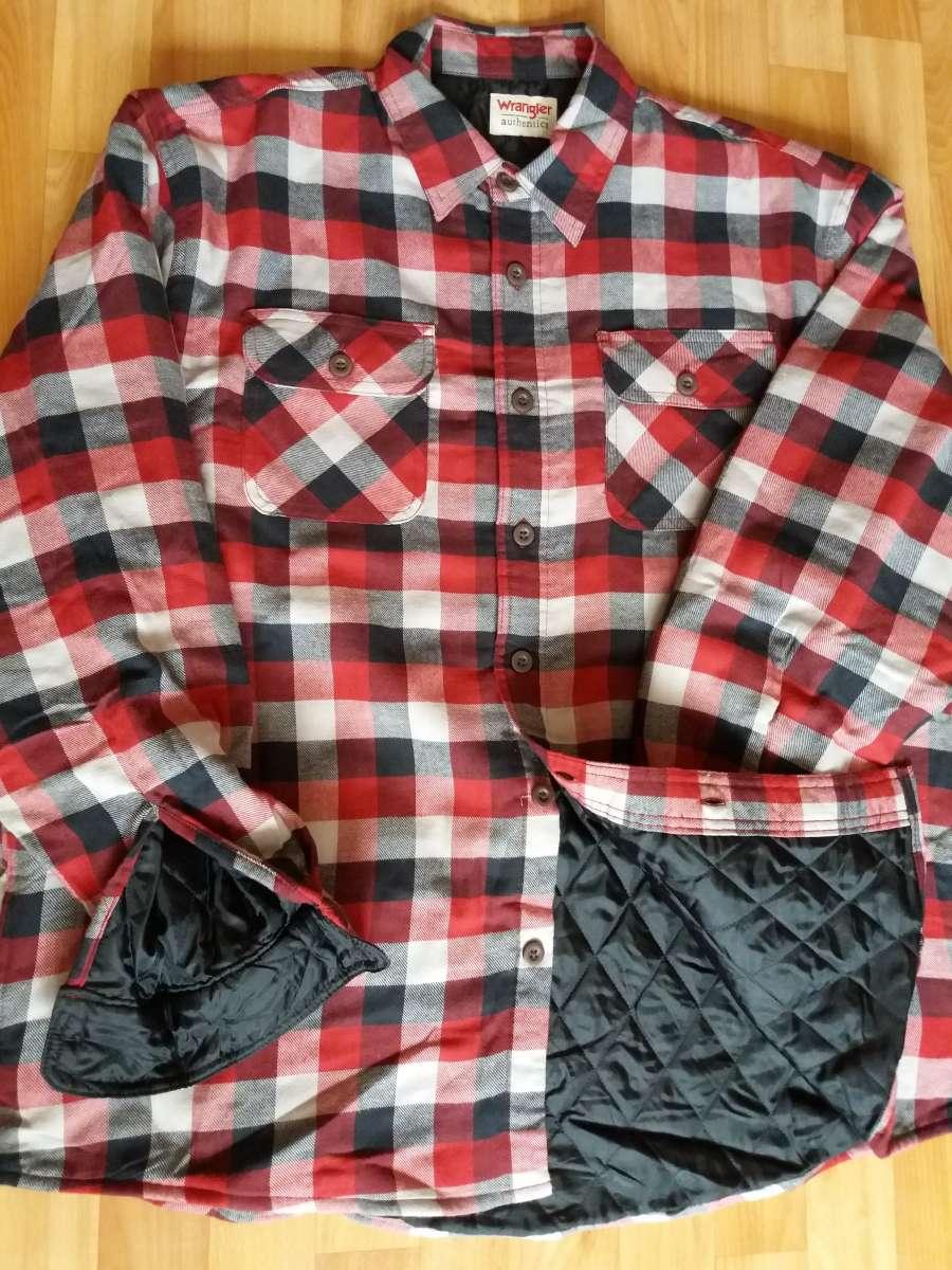 Толстовка/рубашка на подкладке мужская XL, Wrangler, оригинал