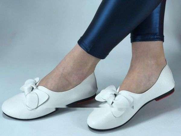 Продам новые женские балетки.Кожа! Размеры-36-40.Цвет-белый,чёрный.