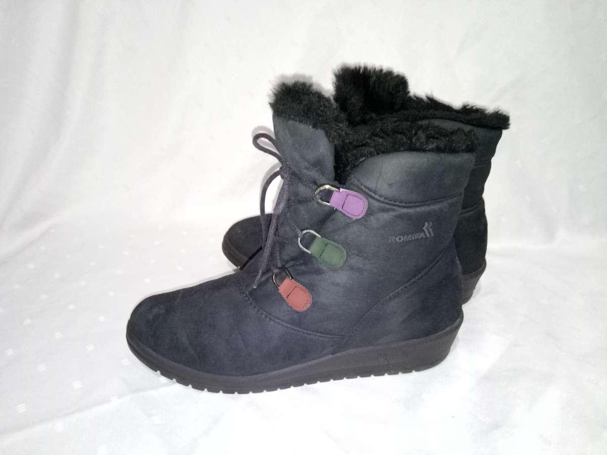 Зимние сапоги,ботинки Ricosta, 37р,стелька24см, отличное состояние