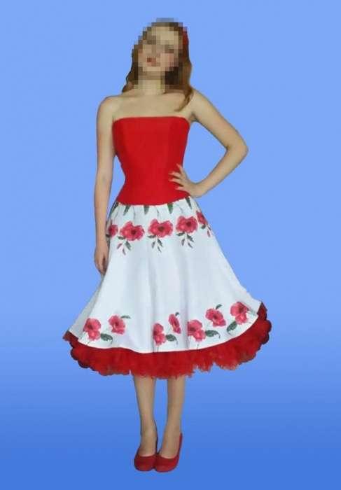 Выпускное платье (корсет)