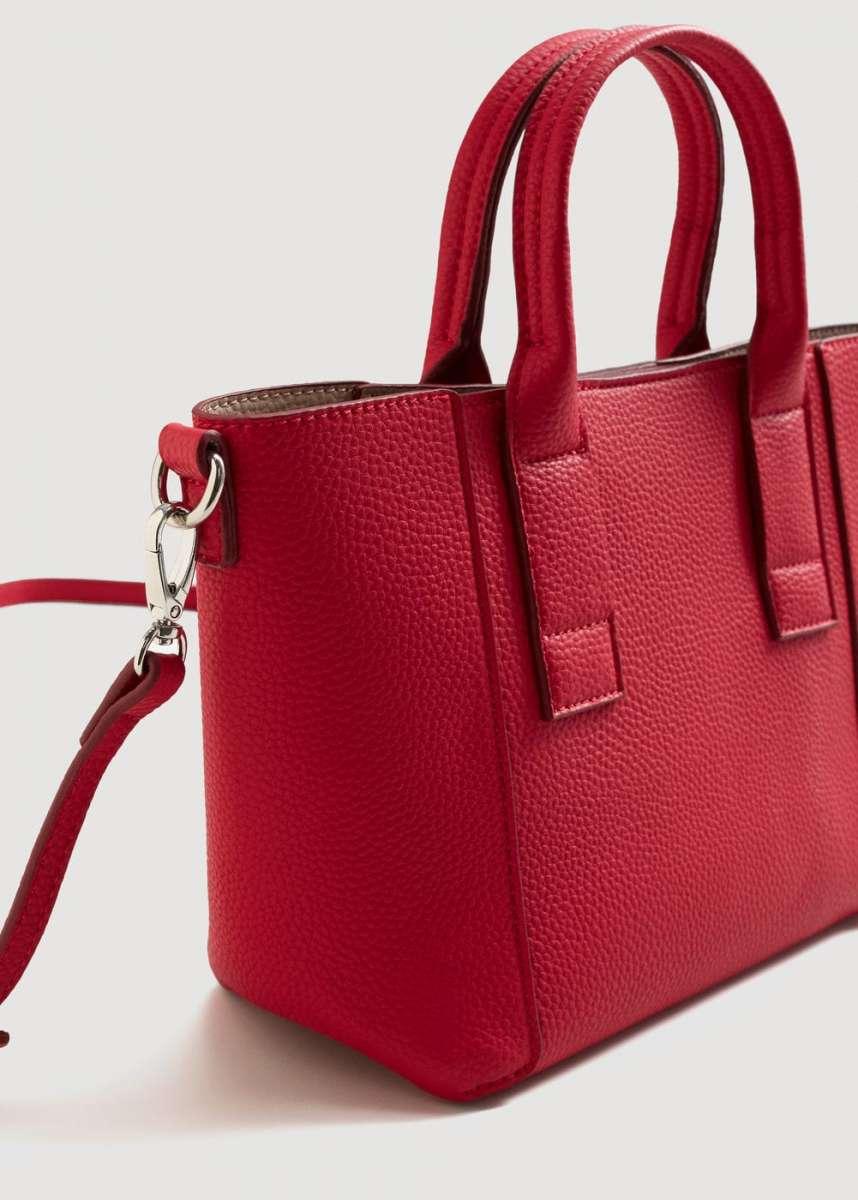 Красивая небольшая сумка Манго фуксия Оригинал