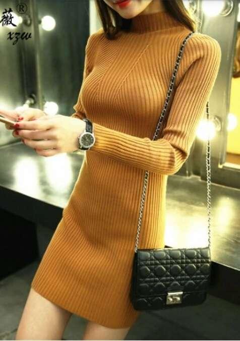 Оранжевая туника. Короткое оранжевое платье.