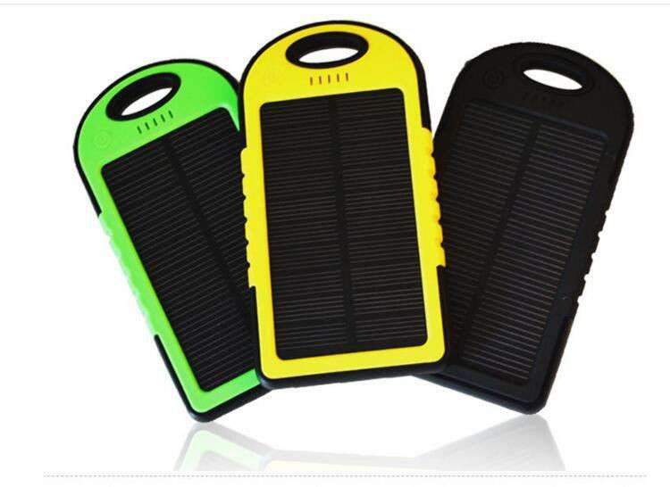 Power Bank 10400 mAh на солнечной батареи