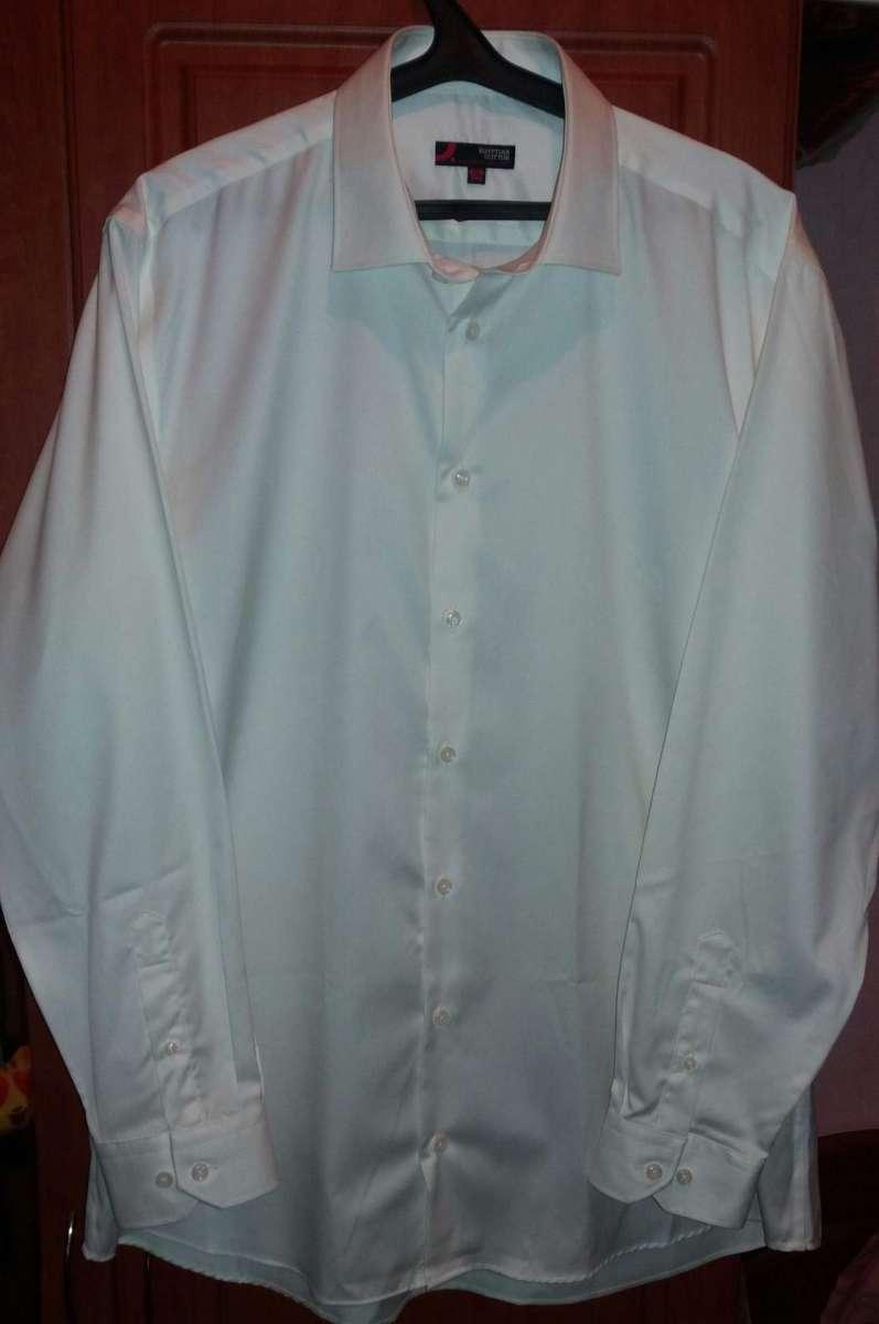 c99e753d956edcc Качественная белая мужская рубашка (100% египетский хлопок). Источник
