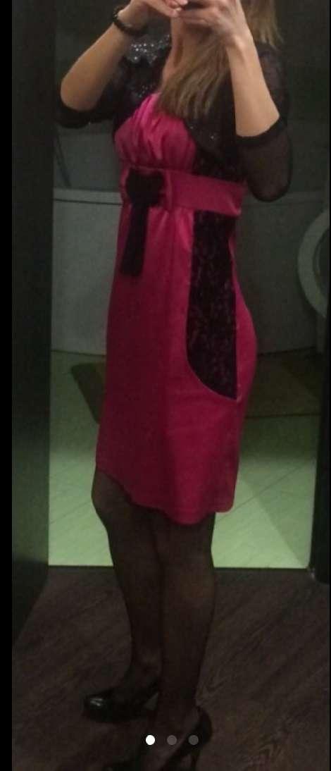 Платье розовое, возможен прокат