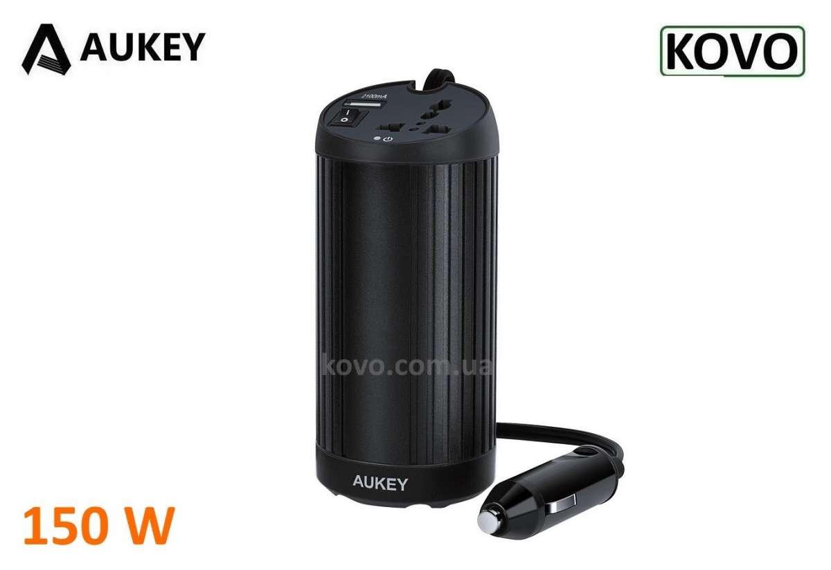 Инвертор Aukey PA-V25 преобразователь 150 Вт Автомобильная зарядка