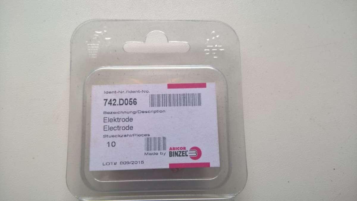 Abicor Binzel 742.D056 Электрод для плазменной резки