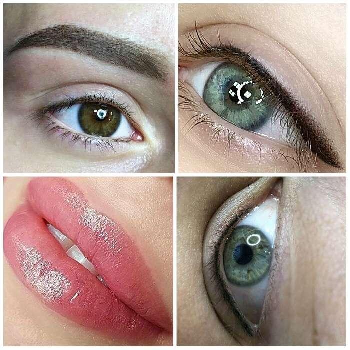 Татуаж бровей, губ, век ( перманентный макияж)