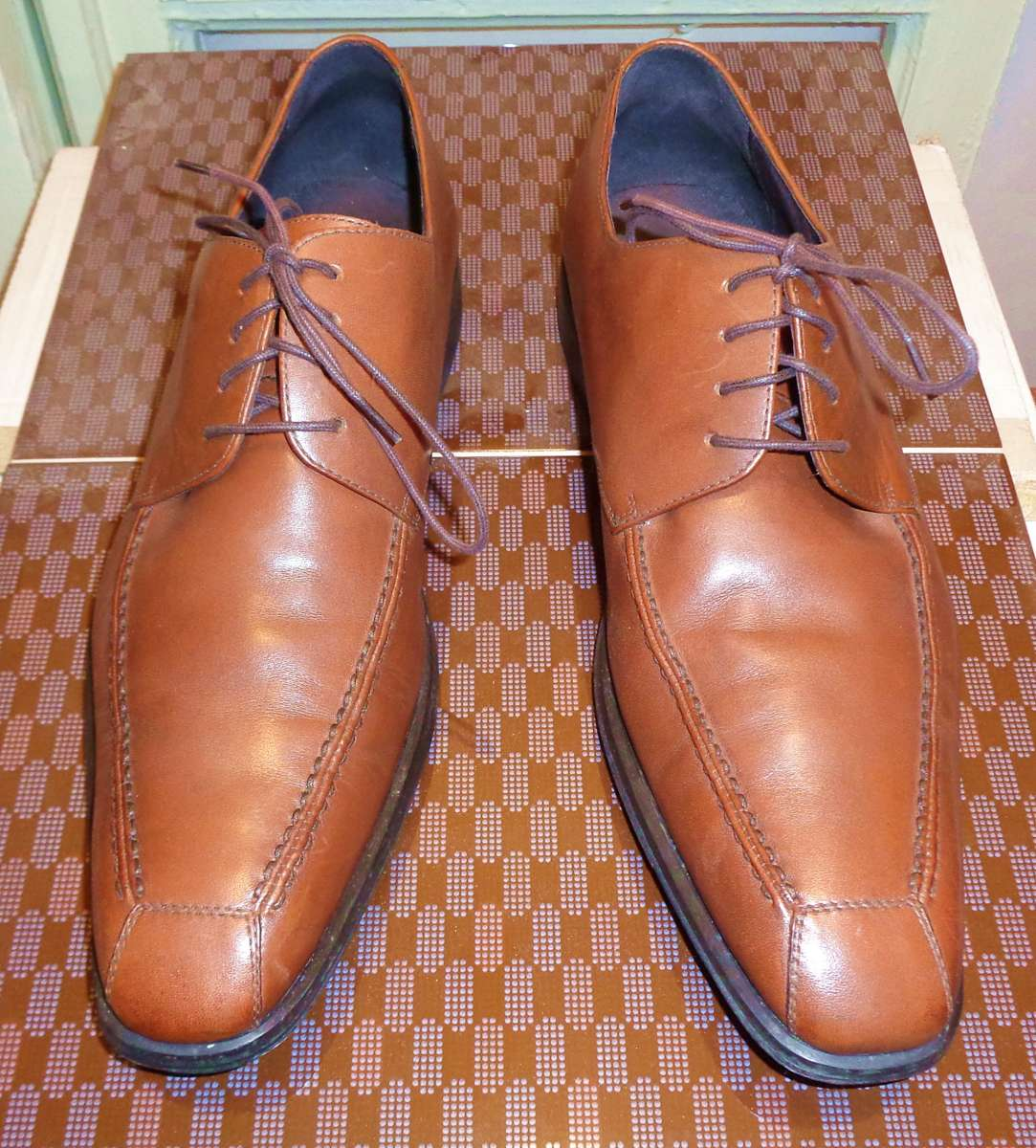 44 размер Туфли коричневые Blue Street Германия ботинки