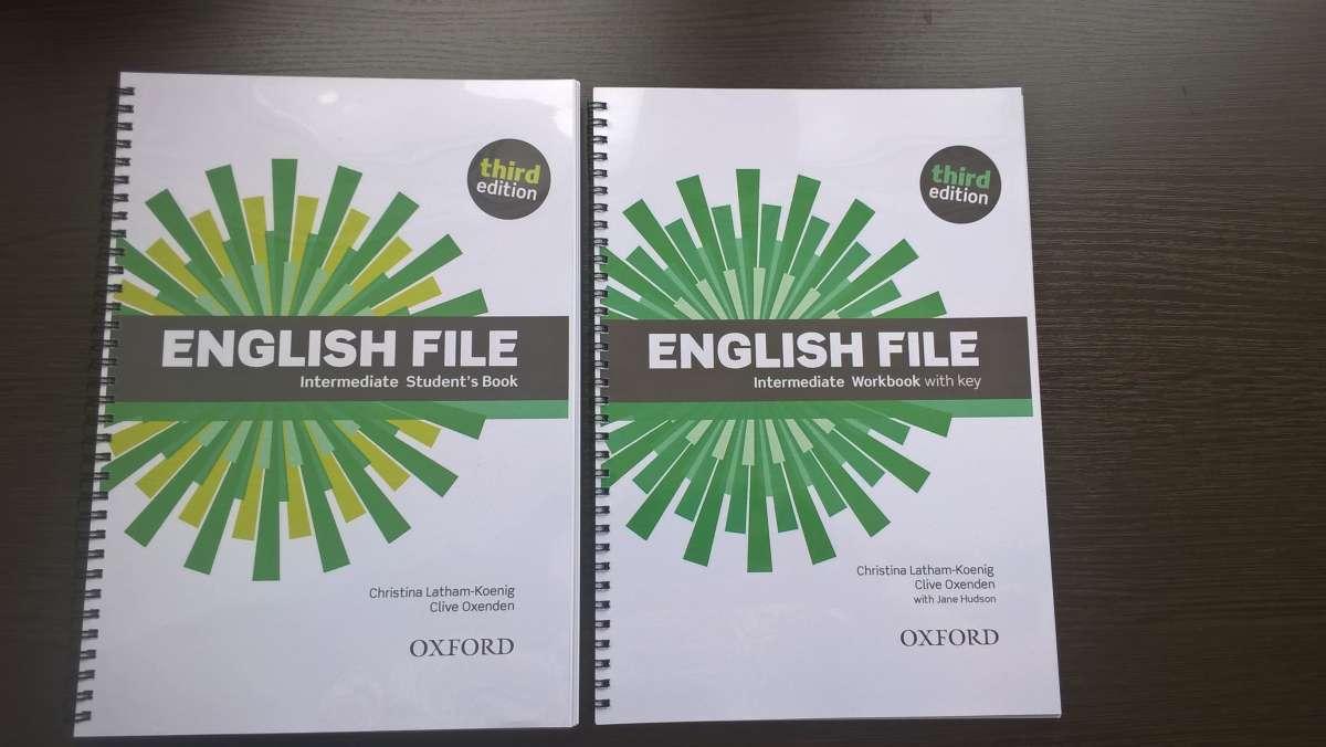English File 3rd Edition - все уровни (цена за SB+WB+Audio)