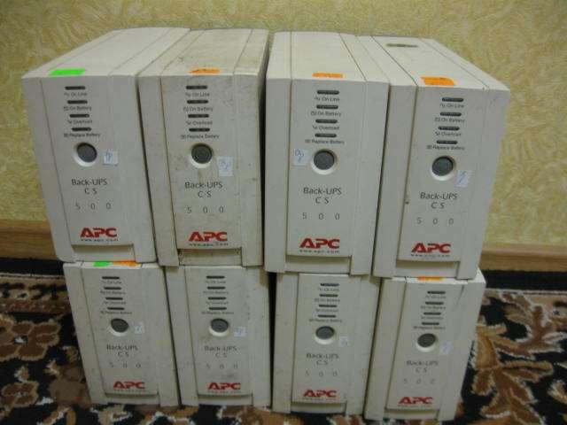 UPS APC 500VA CS  ибп бесперебойник
