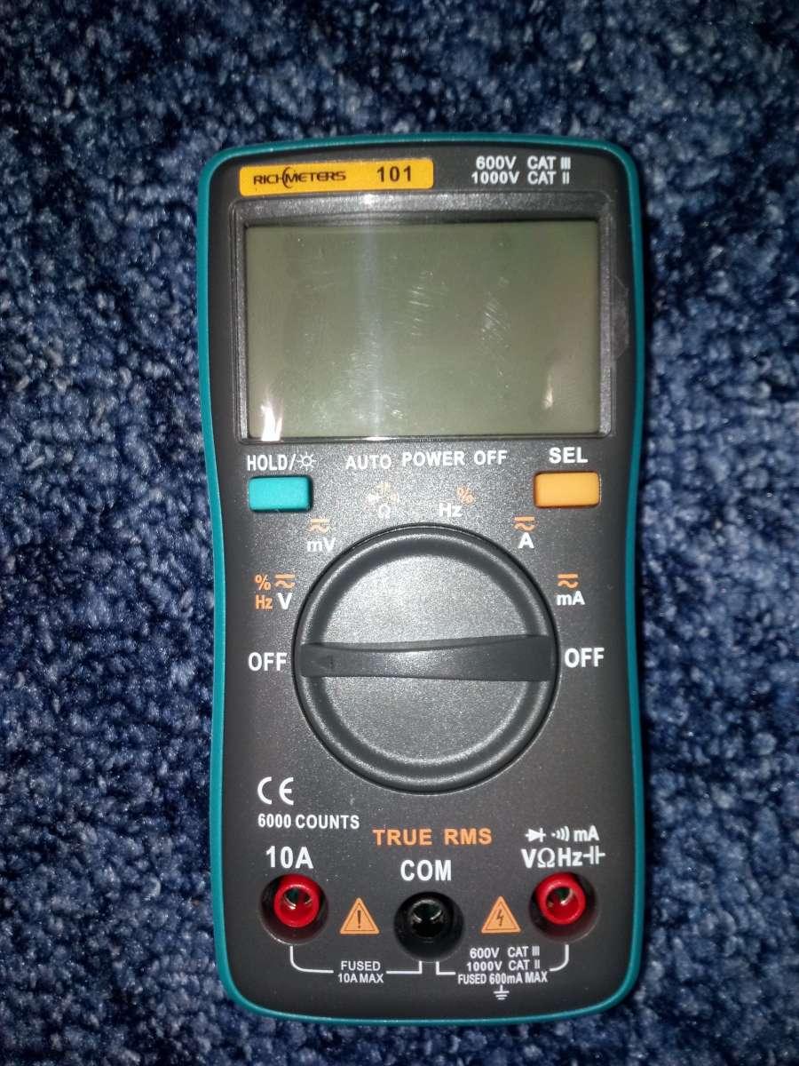 Цифровой Мультиметр RichMeters RM101  445 грн