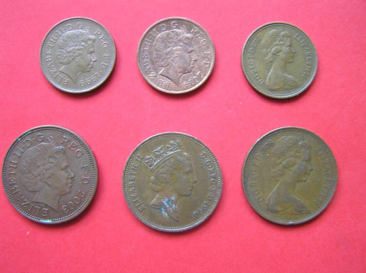 Монеты Великобритании продам