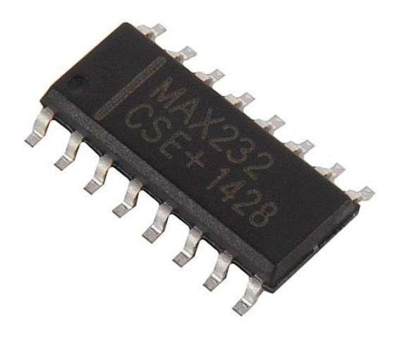 Микросхема MAX3232ESE SO16-150
