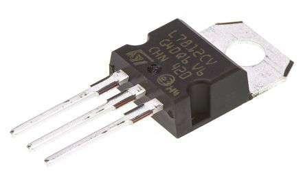 Микросхема стабилизатор напряжения L7812 TO-220Микросхема стабилизатор