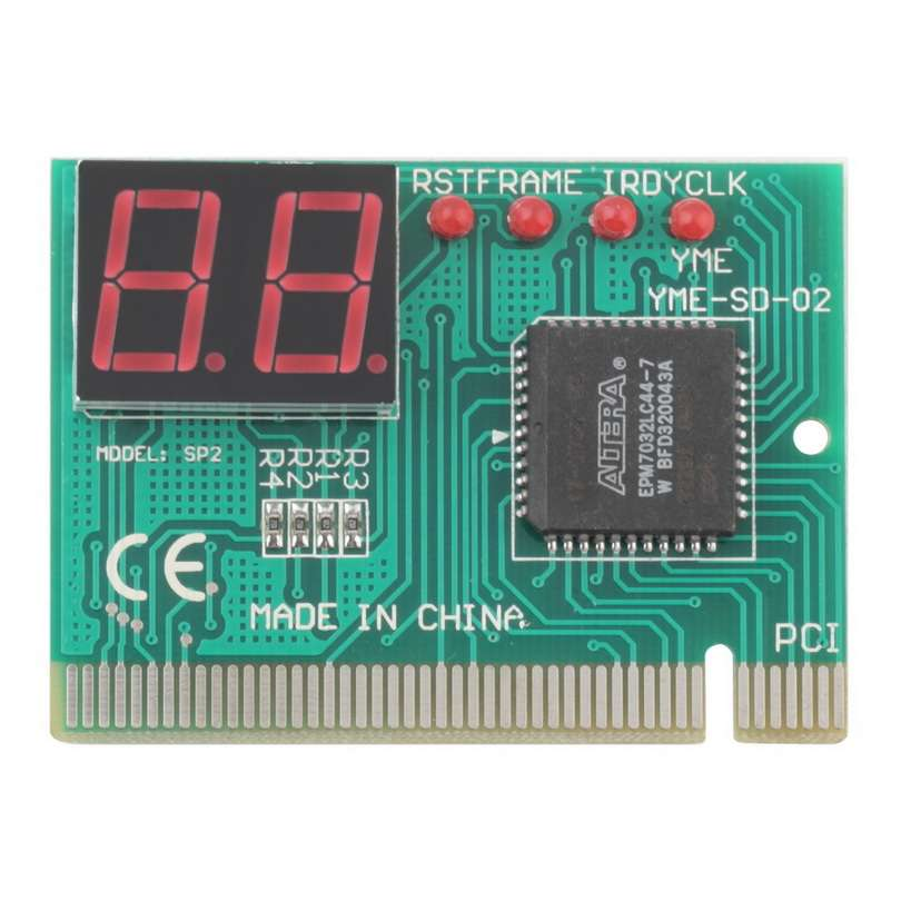 PCI POST CARD для диагностики и ремонта ПК