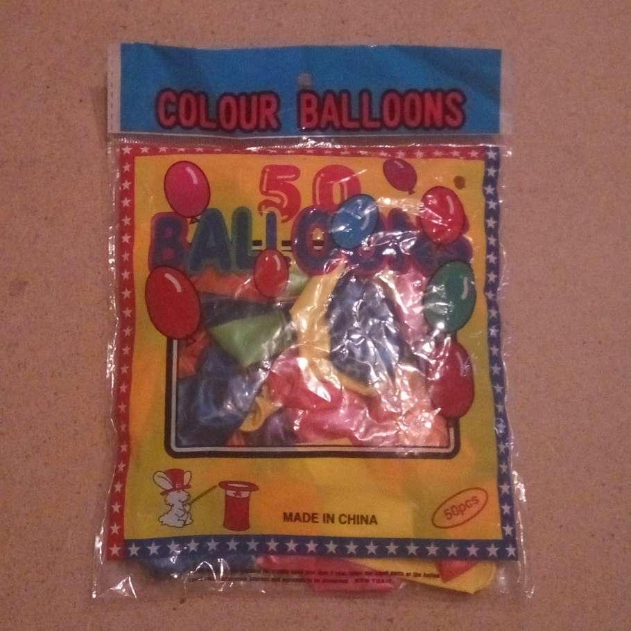Воздушные шары, шарики, упаковка 50 штук