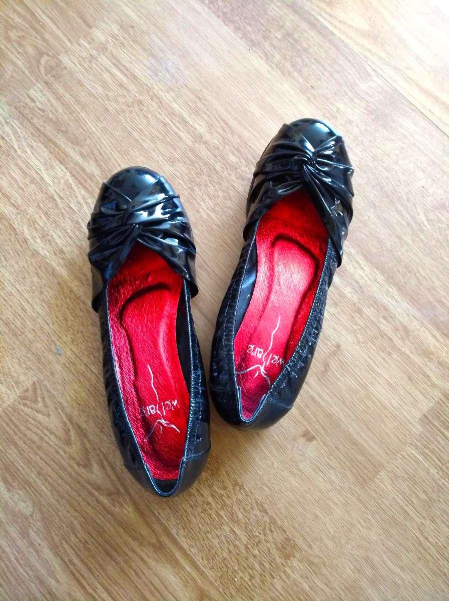 Шкіряні лаковані ретро-туфлі Welfare для маленької ніжки