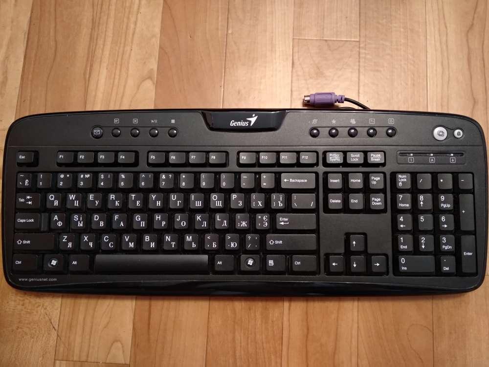 Клавиатура Genius KB 220e PS2
