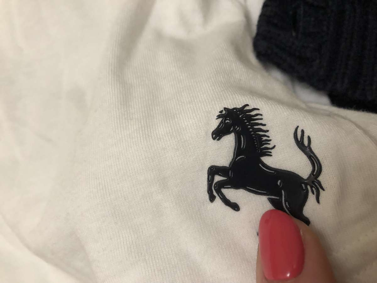 Кофта реглан Ferrari джинсы