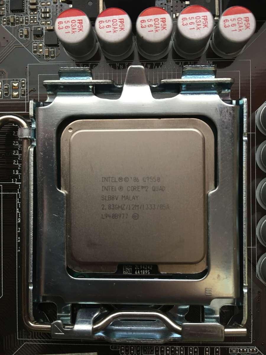 Intel Core 2 Quad Q9550 Socket 775 4 283 1 000 Q 9550