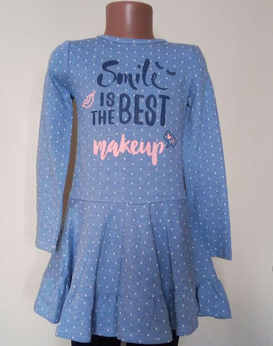Платье для девочек в горошек. Размер: 98, 104, 110, 116 см.