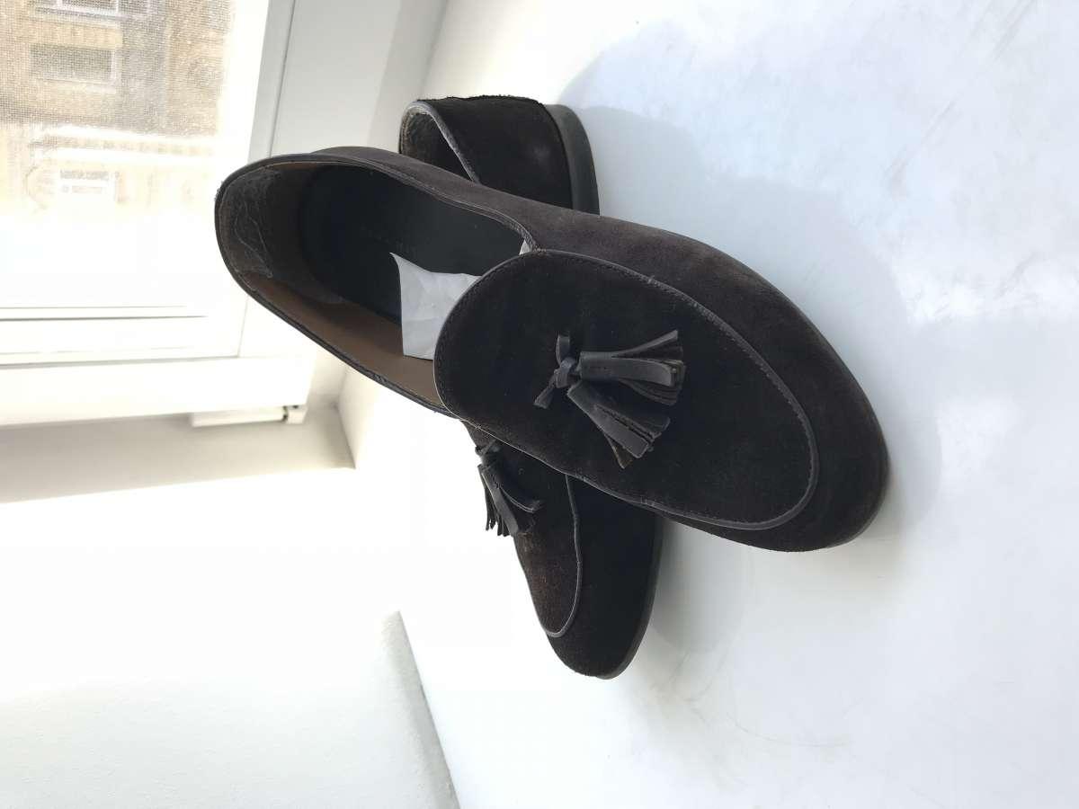 Мужские туфли лоферы Zara 41-41.5р