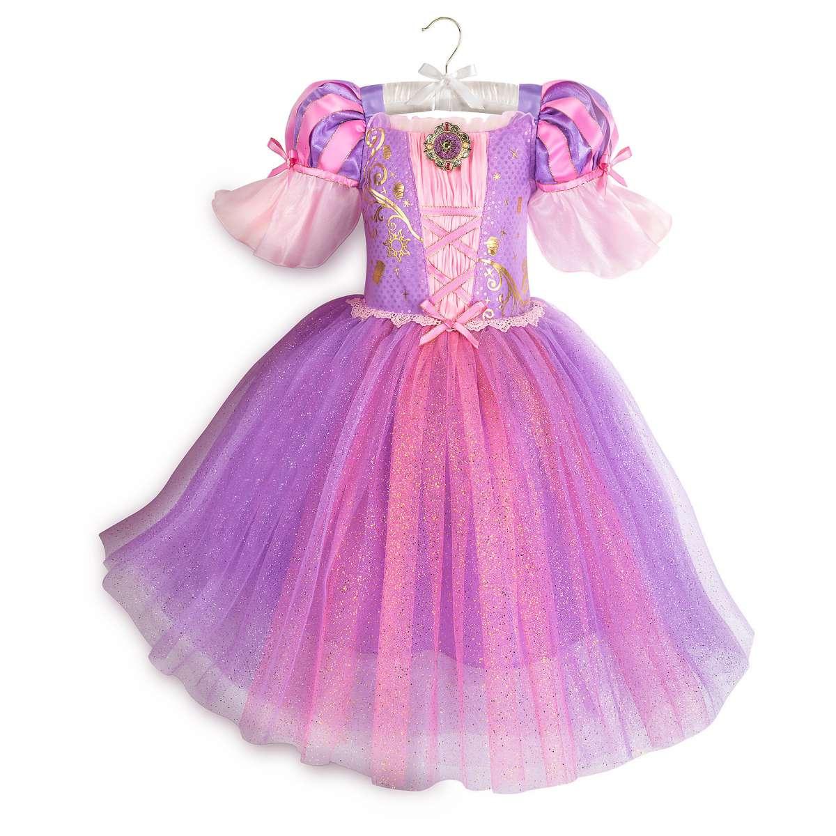 Платье Рапунцель для девочки Дисней