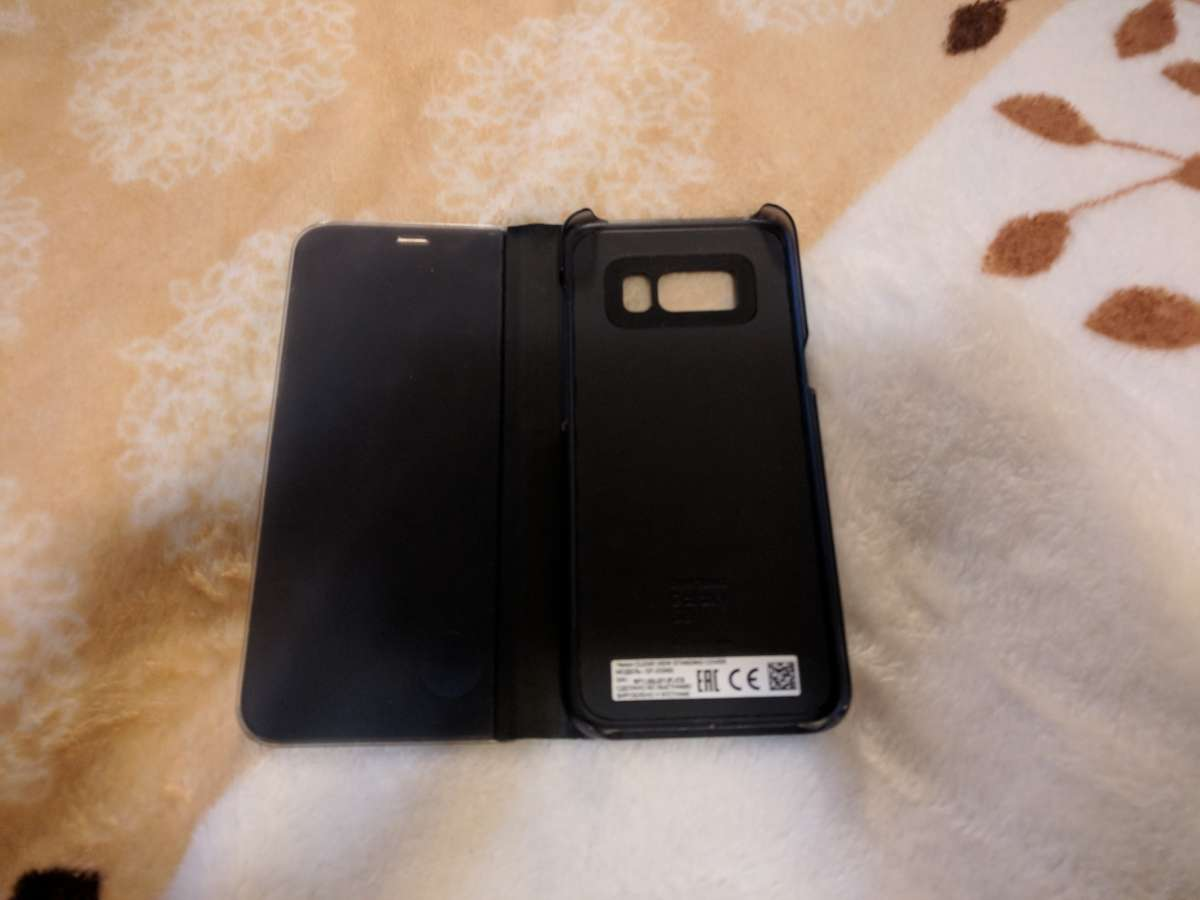 Чехол Samsung Clear View Standing Cover Galaxy S8 ( EF-ZG950CBEGRU )