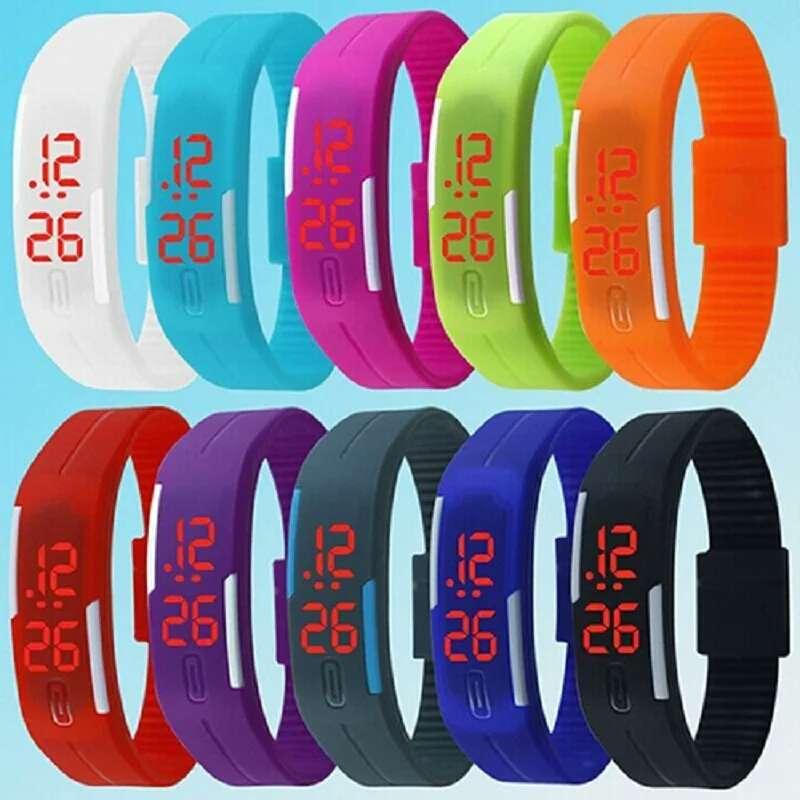 Спортивные силиконовые LED часы  50 грн - Мода и стиль   Наручные ... 35d4603dc4a05