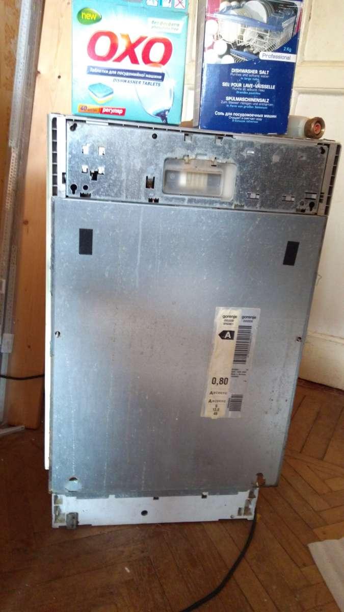 Встраиваемая посудомоечная машина Горенье