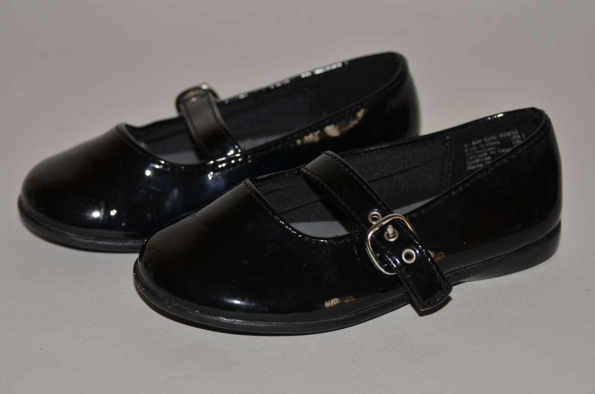 7a35852a1709f3 Кожаные черные лакированные туфли для девочки Smart Fit.: 150 грн ...