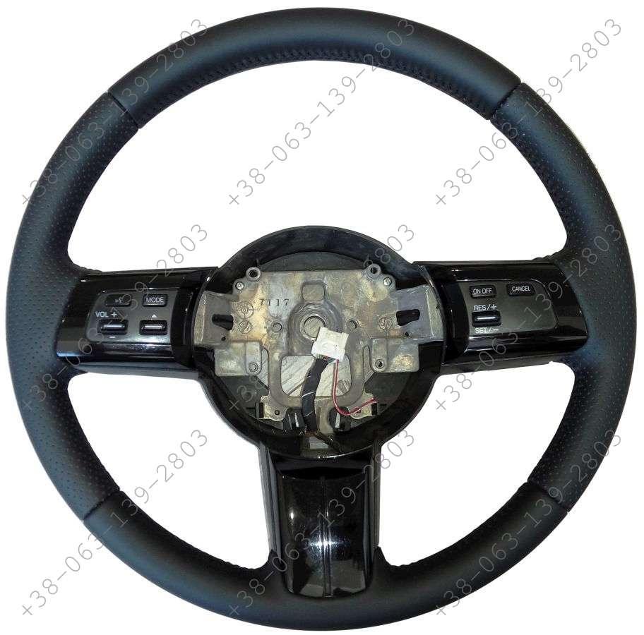 Mazda CX-7 Кожаная оплетка чехол на руль Мазда цх7