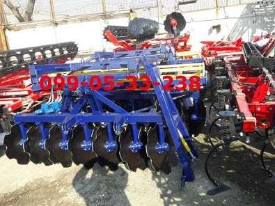 для трактора ЮМЗ-6Л, МТЗ-80/82 продам (1/8-2/5)2,1 метра борону новую.