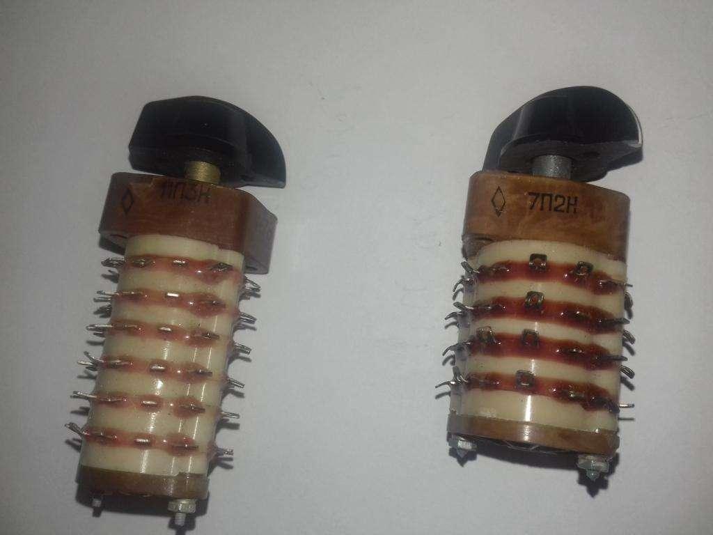 Продам Переключатели: 2П4Н, 3П4Н, 3П8Н, 5П2Н, 6П4Н, 7П2Н…