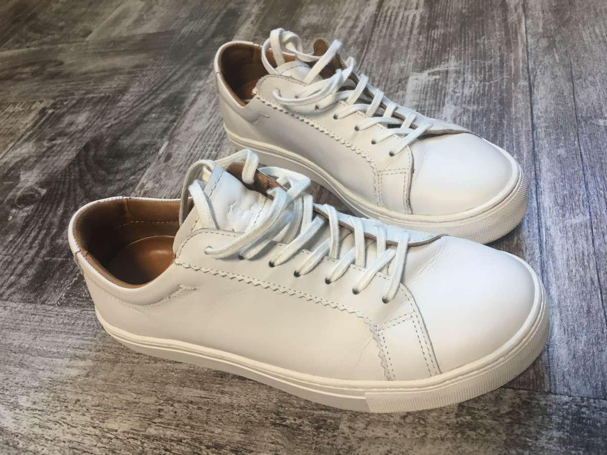 Кожаные кроссовки Massimo Dutti. Состояние новых