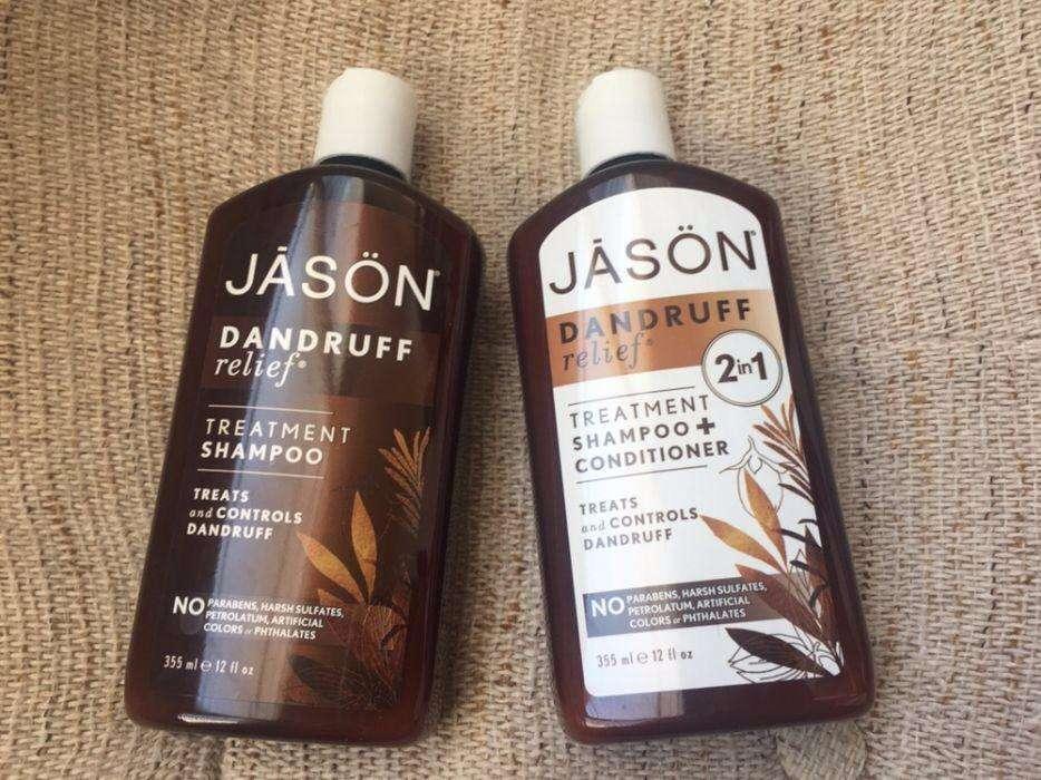 Jason Natural, шампунь от перхоти, США, 355 мл, Dandruff Relief