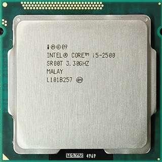 Процессор для ПК I5 2500 SR00T 3.3-3.7 GHz 95W 6M Socket 1155