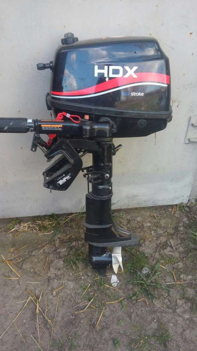 Лодочный мотор HDX 5 л.с. 4-х тактный