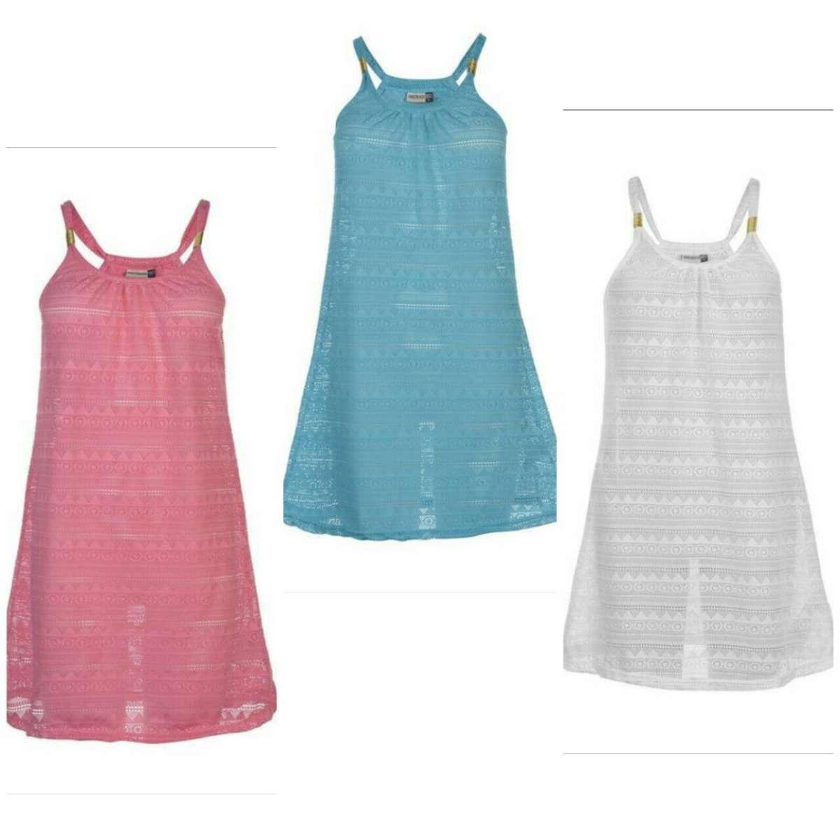 Легкое и практичное пляжное платье (Англия)