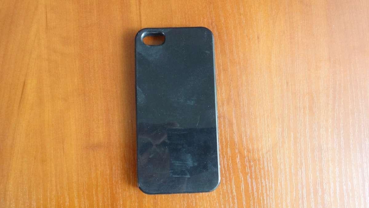 Чехол для iphone 5 5s черный