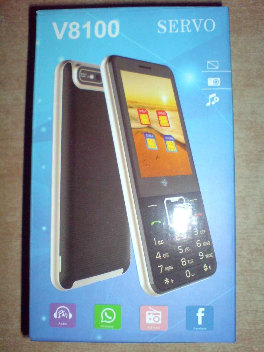 ПРОДАМ телефон SERVO V8100 4 сим-карты.