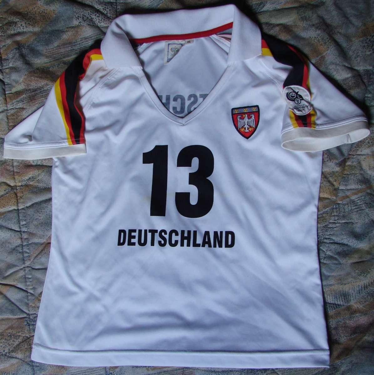 Футболка Deutschland, ріст 158 см