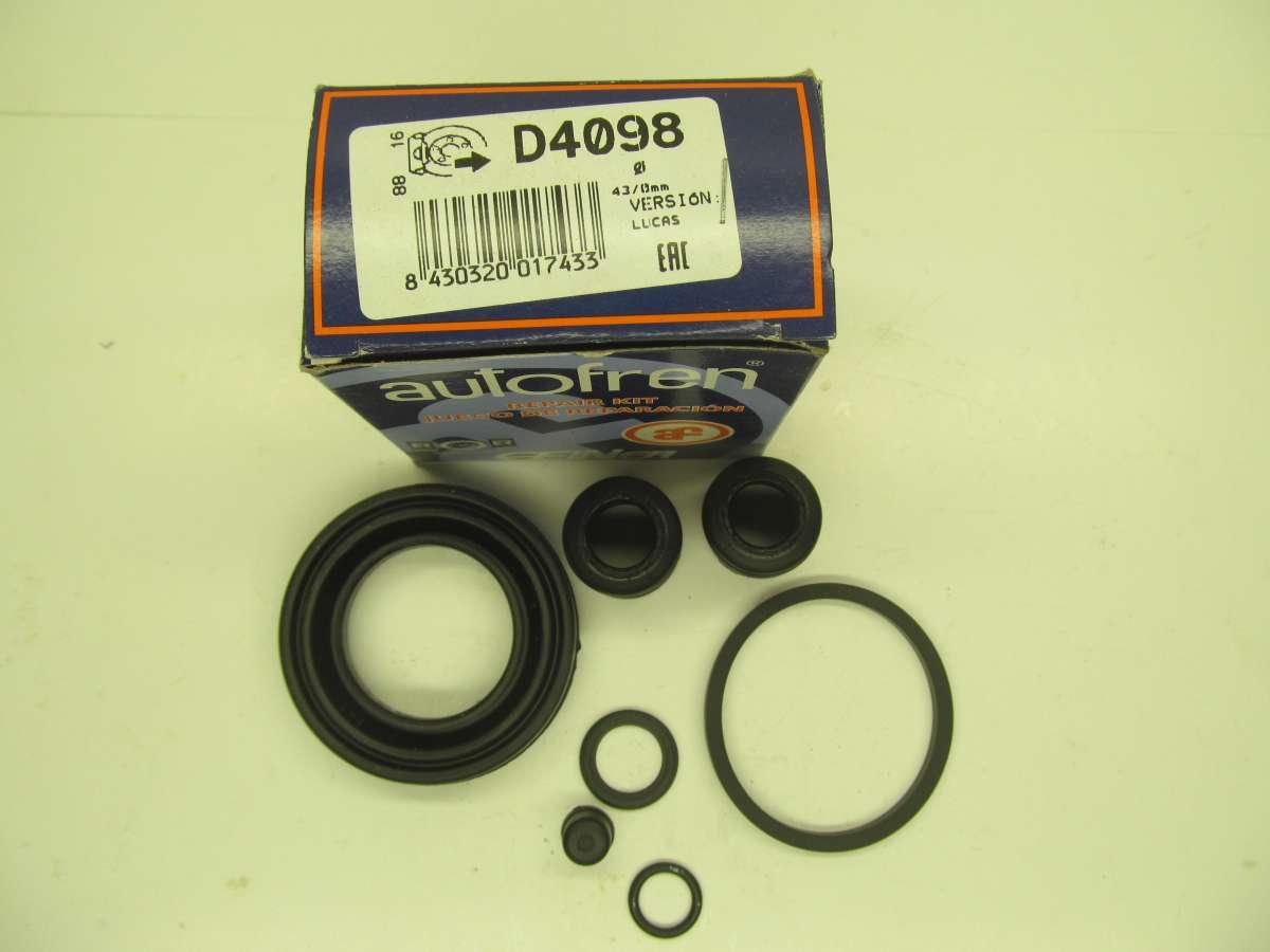 Ремкомплект заднего тормозного суппорта Ford Scorpio Sierra D4098