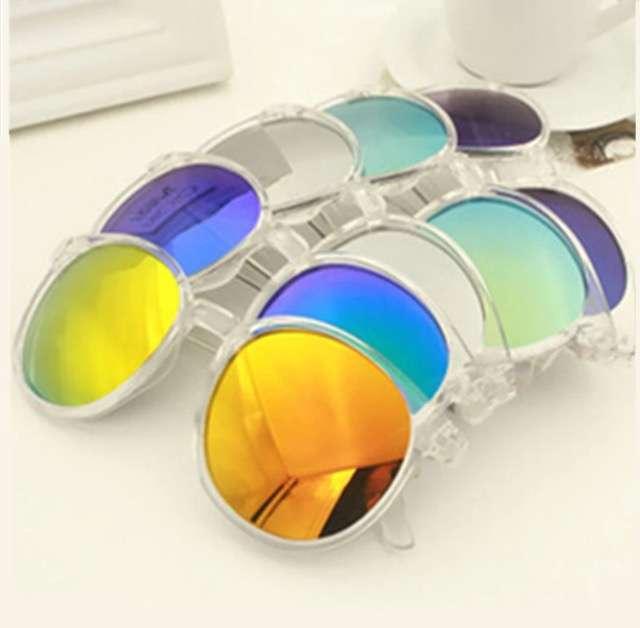 Солнцезащитные очки зеркальные