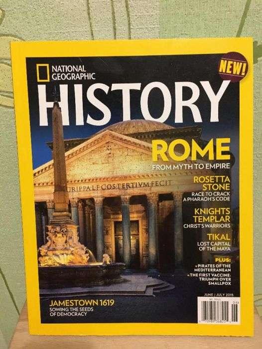 Журнал National Geographic History англійською мовою