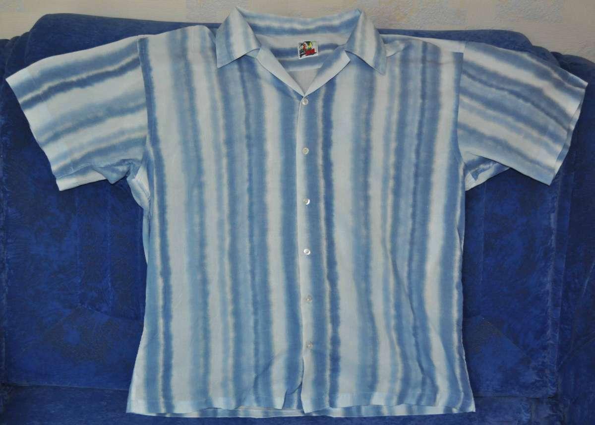 Рубашка летняя в полоску